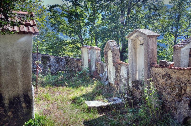 Reneuzzi-Geisterstadt verlassen stockbild