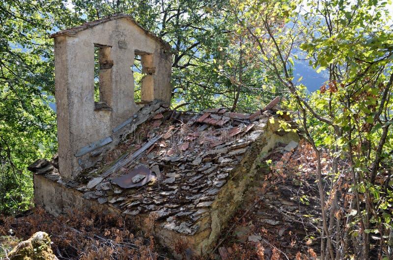 Reneuzzi-Geisterstadt verlassen lizenzfreie stockfotos