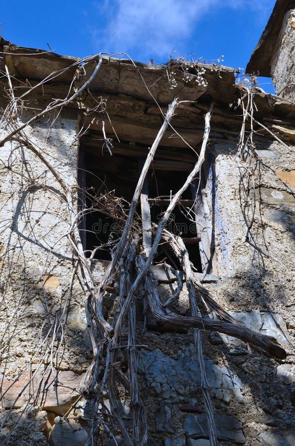Reneuzzi-Geisterstadt verlassen lizenzfreies stockfoto