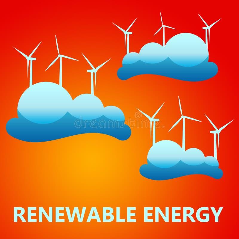 Download Renewable energy stock illustration. Illustration of electrical - 27745814