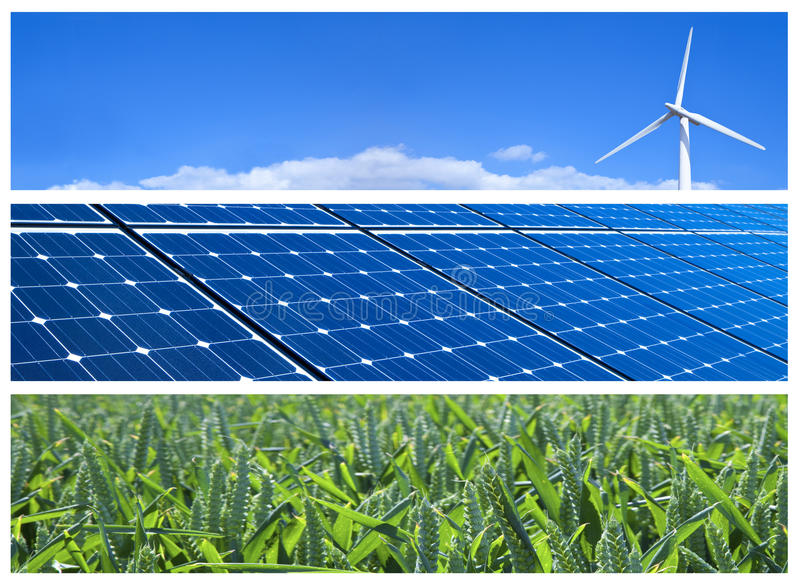 Download Renewable Energy Banners stock image. Image of green - 27533107