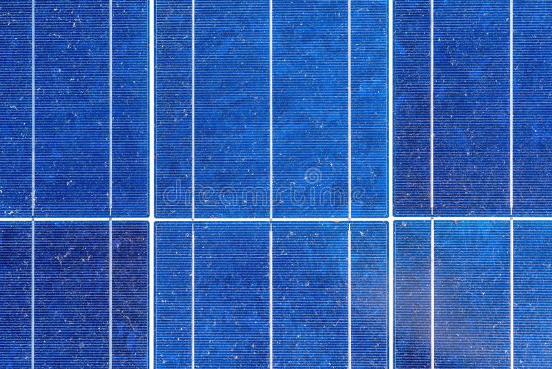 Renewable energy,Blue  background of solar panels. royalty free stock photo