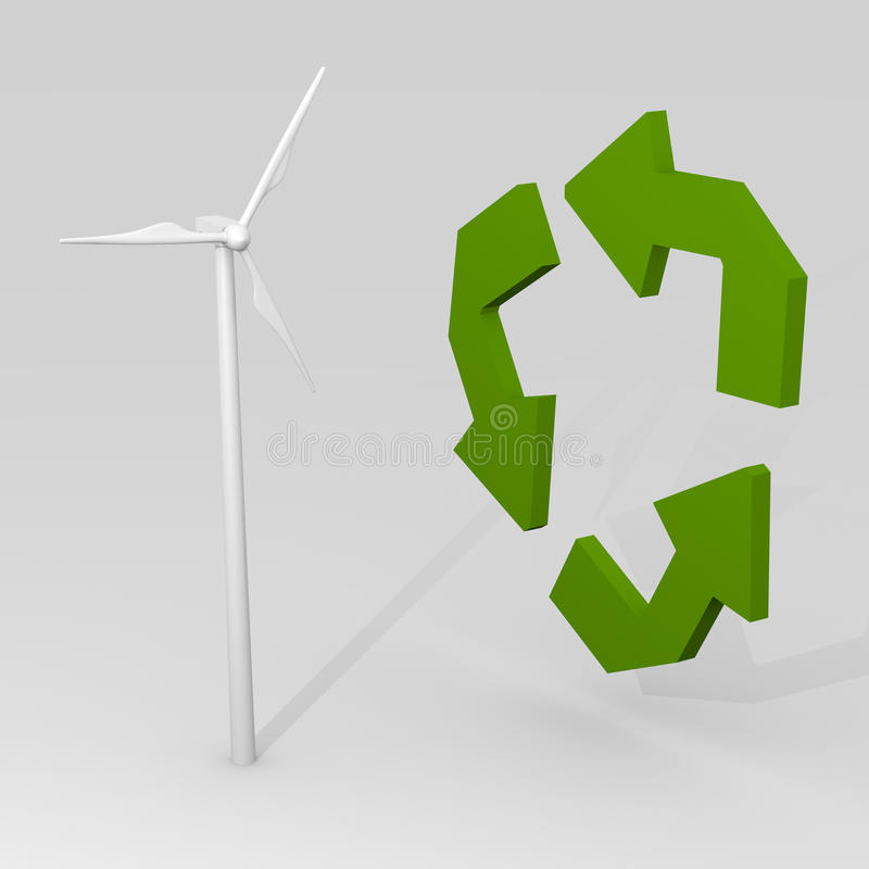 Renewable Energy Concept Royalty Free Stock Photo