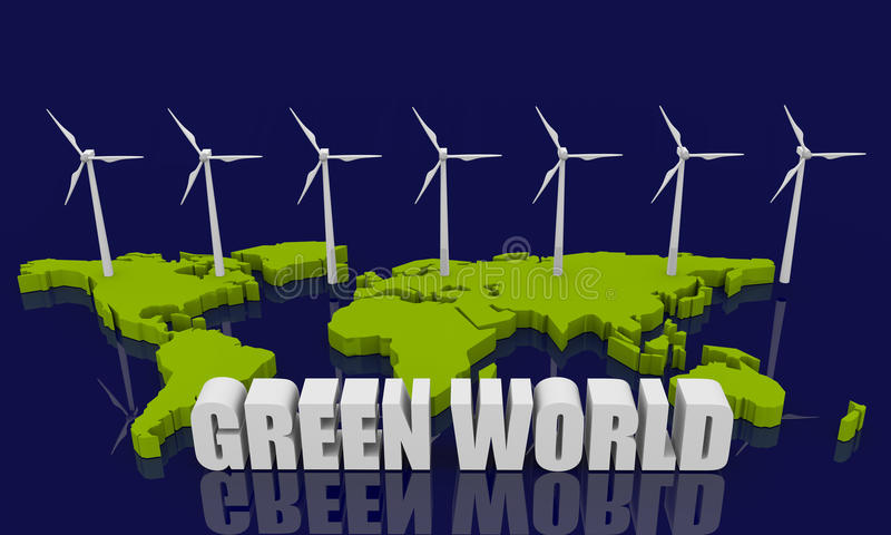Download Renewable energy concept stock illustration. Image of background - 23759004