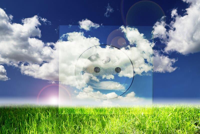 Renewable Energy Concepts Stock Photo