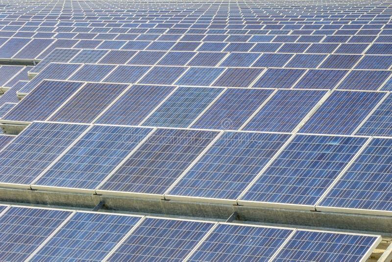Renewable energy- Solar energy. Solar panels as source of renewable ecologic energy royalty free stock image