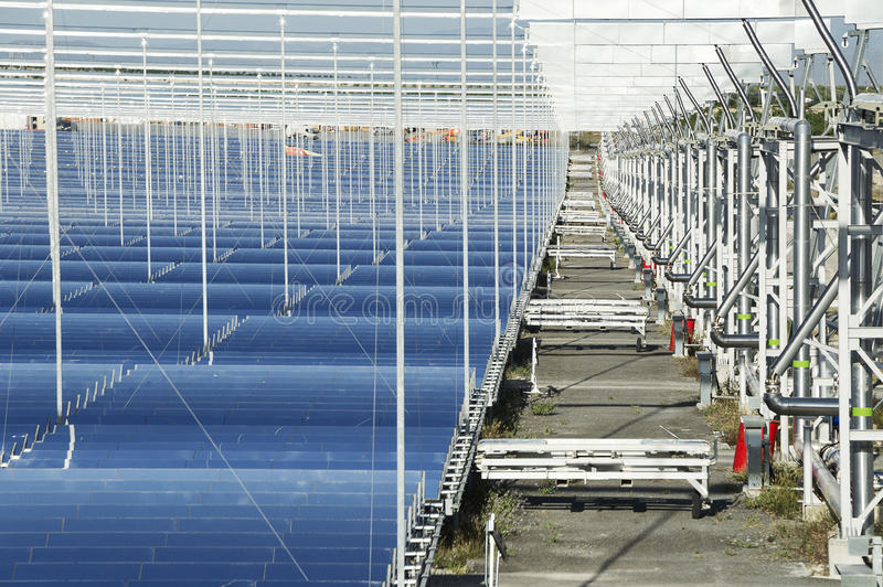 Renewable Energy: Solar: The newest and the cleanest way to prod stock photo