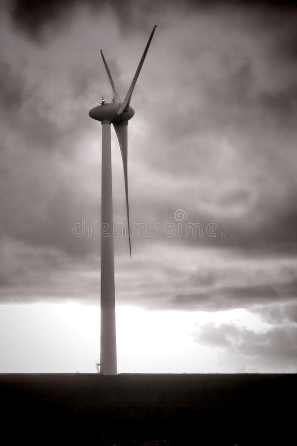 Renewable Energy Wind Power Windmill Turbine stock images