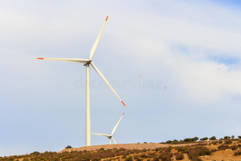 Renewable energy wind vane. Alternative energy wind vane. natural resources for a green world royalty free stock images