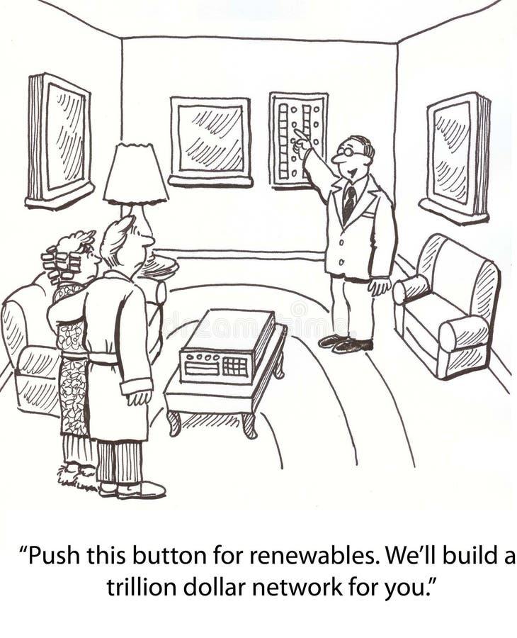 renewables иллюстрация вектора