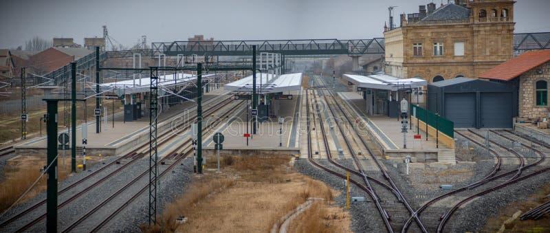 Train station of Zamora, Spain. Renfe`s railway station in Zamora Spain stock photography