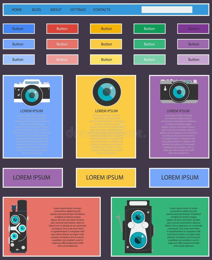 Rengöringsduk för fotovideokamera- och multimediautrustning royaltyfri illustrationer
