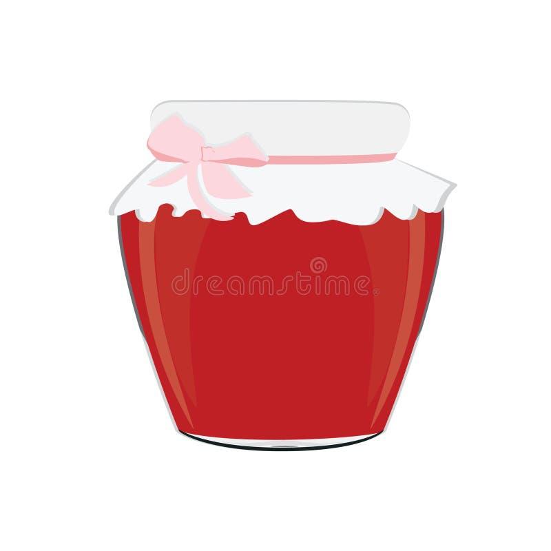 rengöringsduk för universal för mall för jordgubbe för sida för driftstopp för bakgrundskorthälsning stock illustrationer
