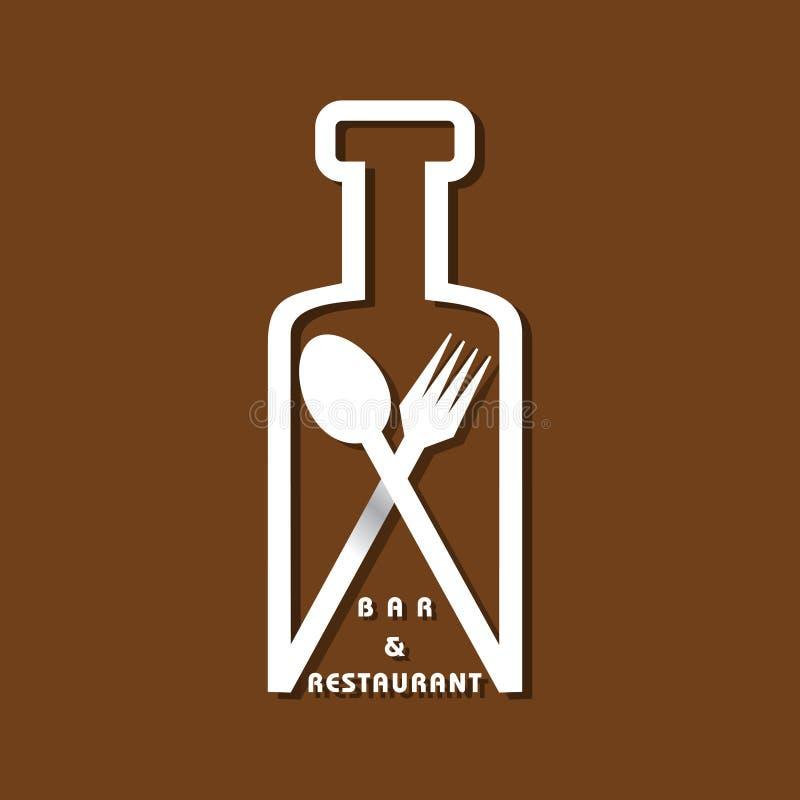 rengöringsduk för universal för mall för restaurang för sida för meny för bakgrundskorthälsning stock illustrationer