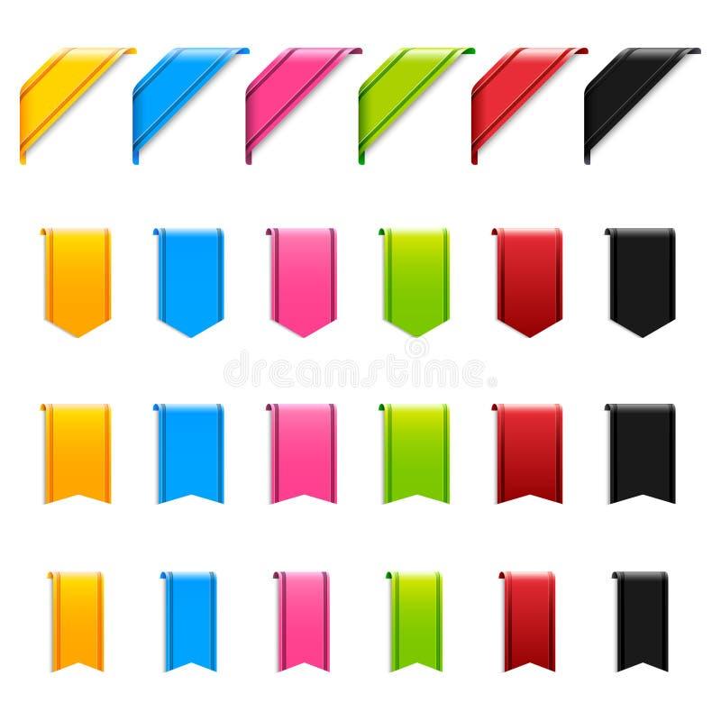 Rengöringsdukband stock illustrationer