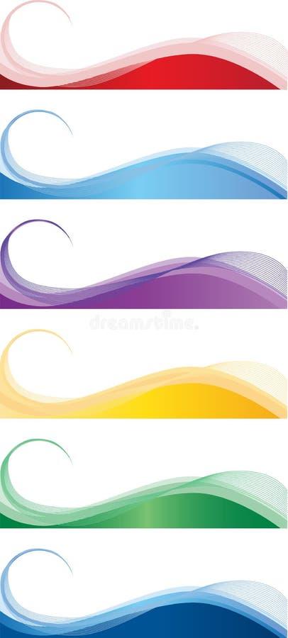 Download Rengöringsdukbaner vektor illustrationer. Illustration av banderoll - 27709271