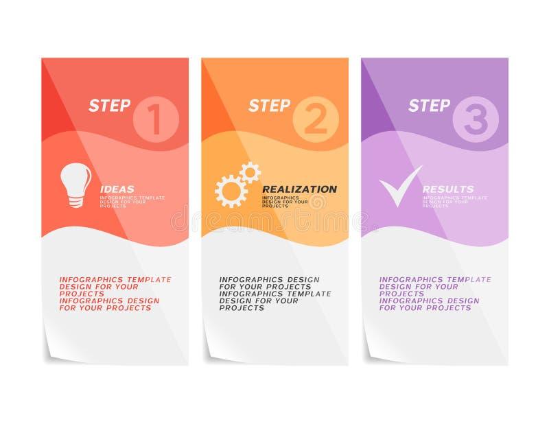 Rengöringsdukbanerdesign eller broschyrmall vektor illustrationer