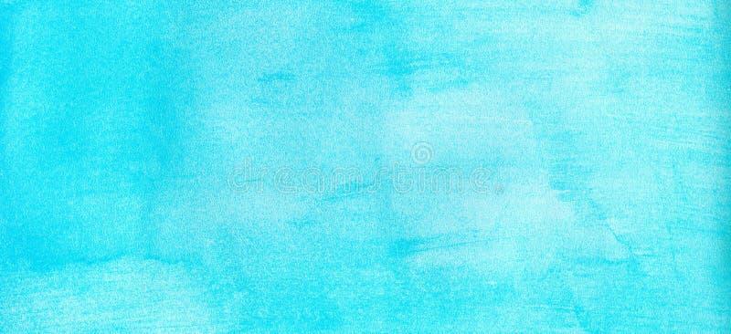 Rengöringsdukbanerflotta eller marinblå bakgrund för vattenfärglutningpåfyllning Akvarellfläckar Abstrakt begrepp målad mall med  arkivfoton