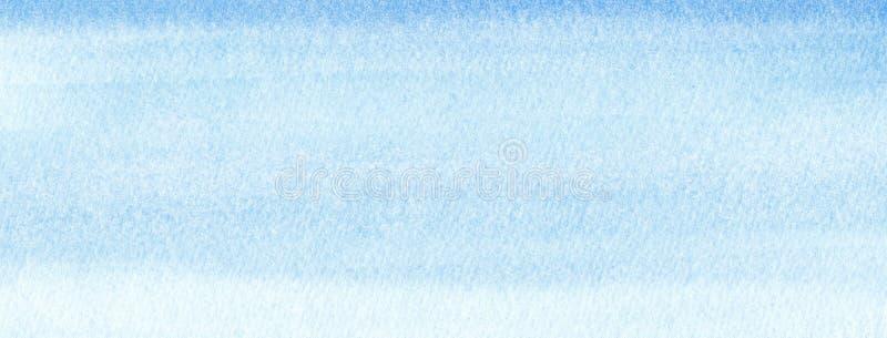 Rengöringsdukbanerflotta eller marinblå bakgrund för vattenfärglutningpåfyllning Akvarellfläckar Abstrakt begrepp målad mall med  royaltyfri illustrationer
