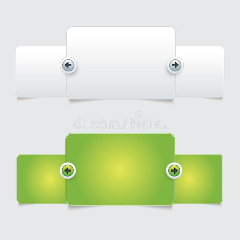 Rengöringsdukdesign vektor illustrationer