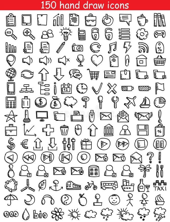 Rengöringsduksymboler royaltyfria foton