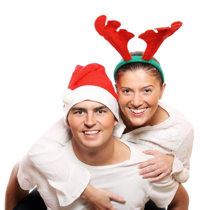 reniferowy Santa fotografia stock