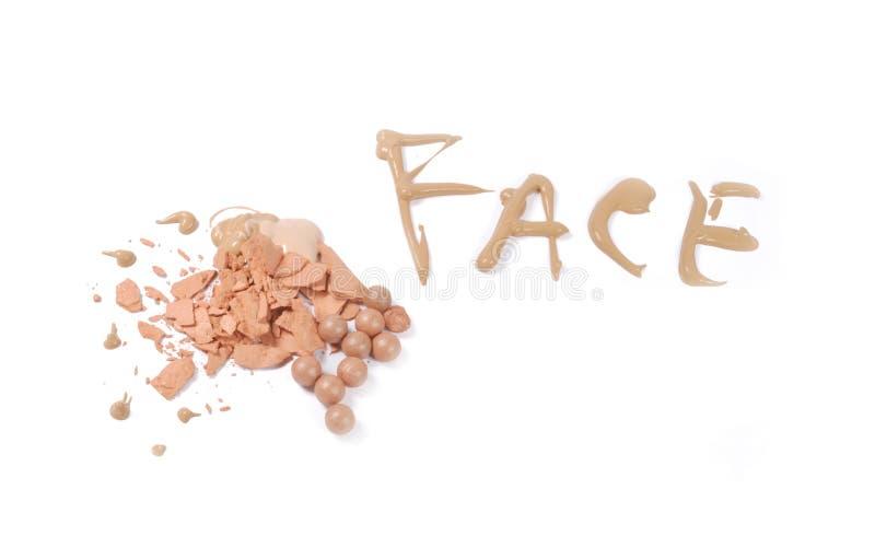 Renivellement de visage photos stock