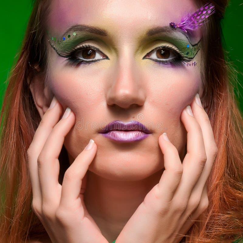 Renivellement multicolore de belles vacances de mode photo stock