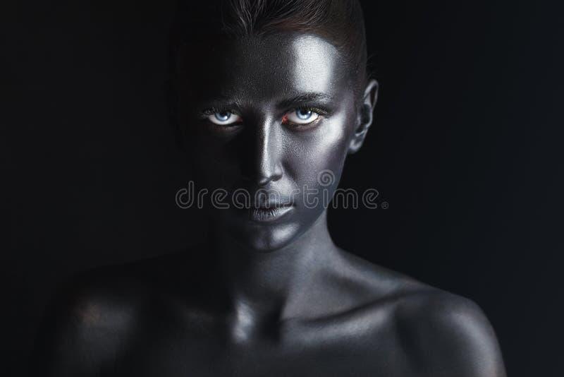 Renivellement noir images stock