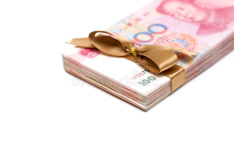 Renminbi royalty-vrije stock afbeelding