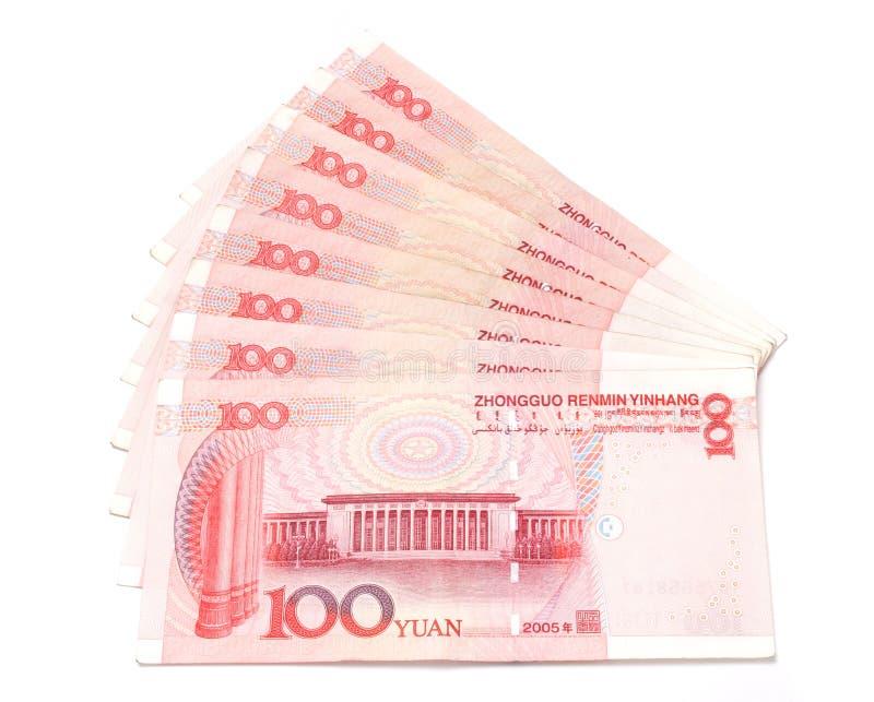 renminbi royaltyfri bild