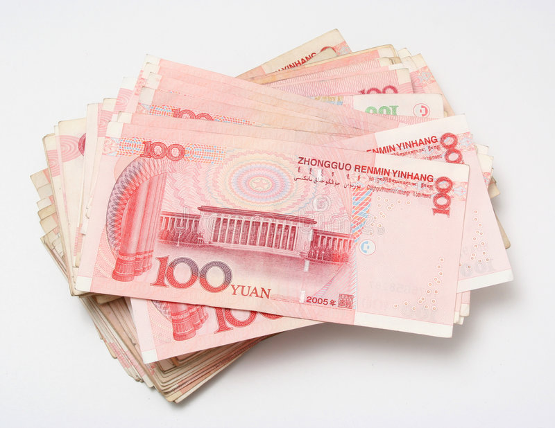 Renminbi stock fotografie