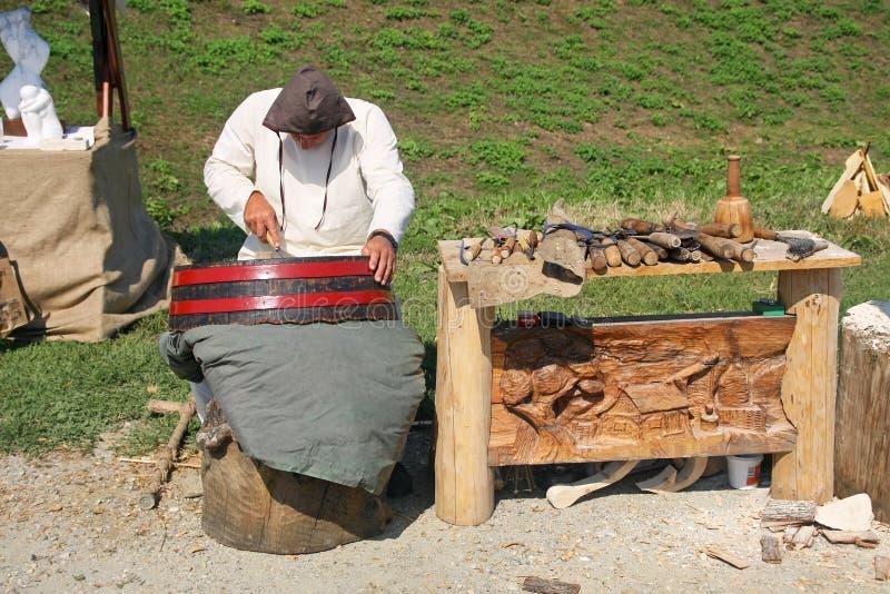 Renneissance giusto in Koprivnica, Croazia immagine stock libera da diritti