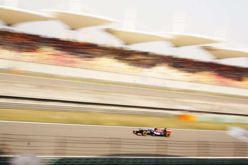 Rennen F1 stockfotos