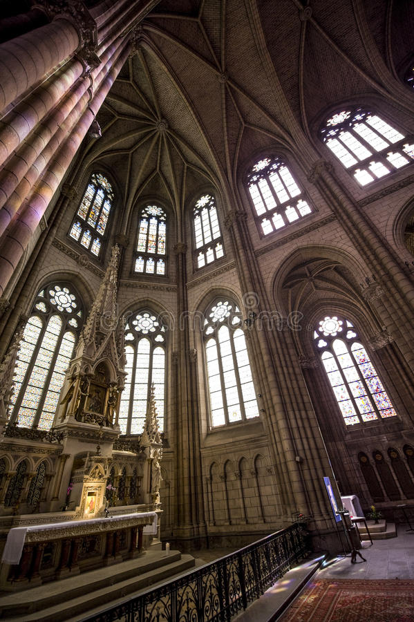 Download Rennes stock photo. Image of vertical, gothic, et, indoor - 26970306