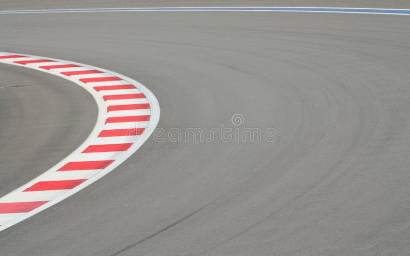 Rennstrecke F1 stockfoto