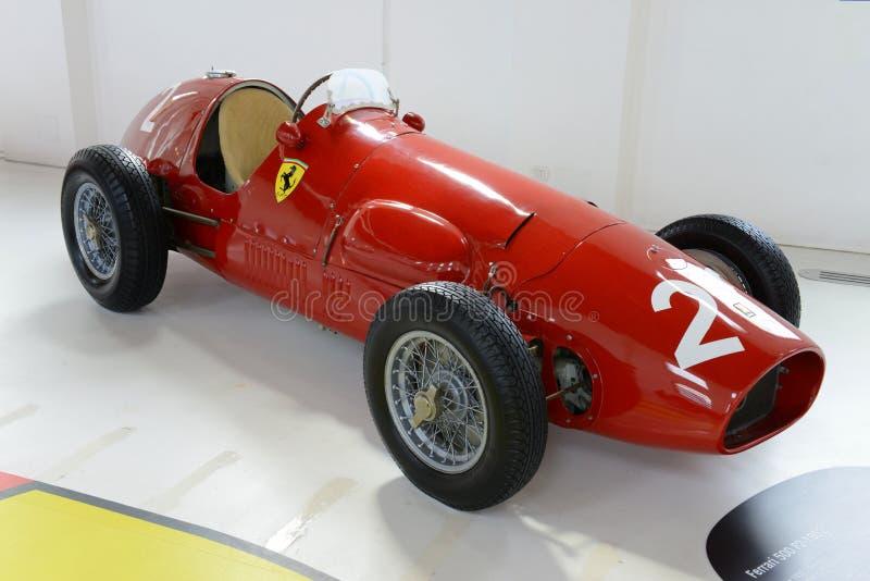 Rennwagen Formel F2 Ferraris Tipo 500 stockbilder