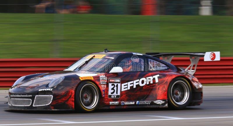 Rennwagen Porsche-911 lizenzfreie stockfotos