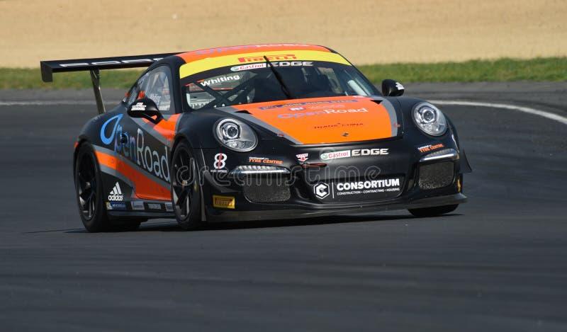 Rennwagen Porsches GT3 lizenzfreies stockfoto
