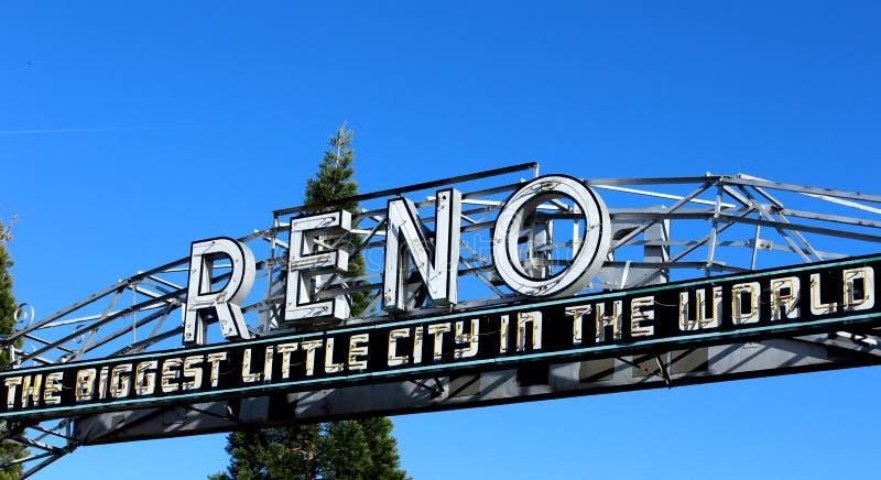 Reno Arch fotografie stock