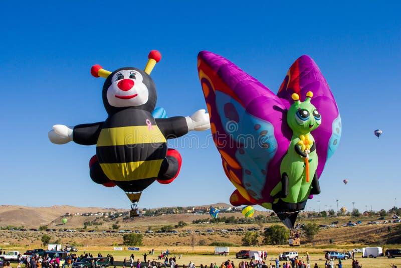 Reno Balloon Race royalty-vrije stock afbeelding