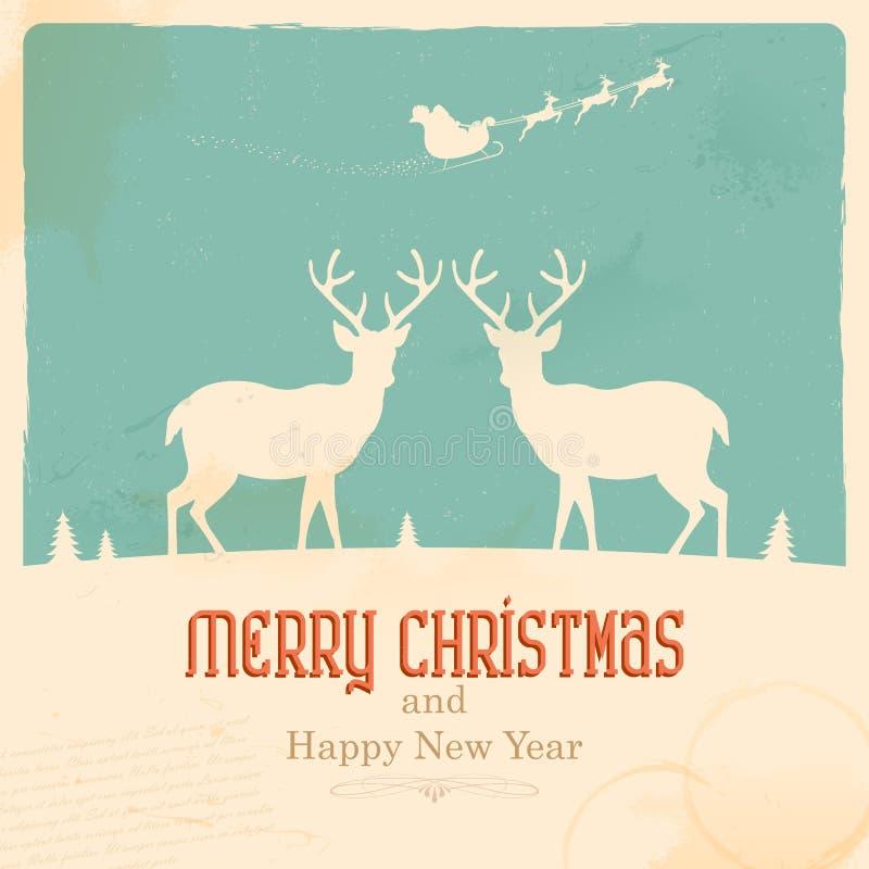 Reno de la Navidad libre illustration