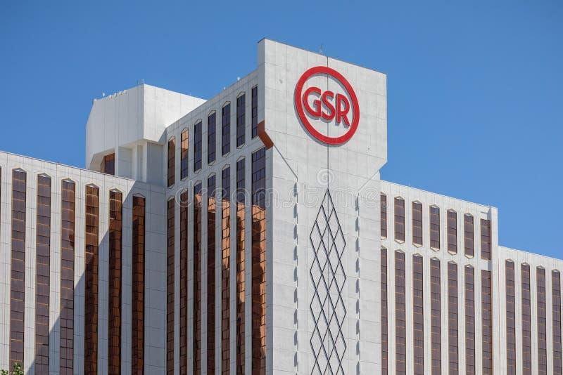 Reno, nanovolt - 23 juin 2018 - sierra grande hôtel et casino photo libre de droits