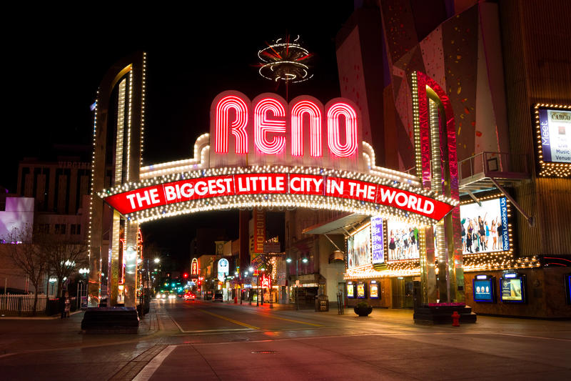 Reno Nevada imagens de stock