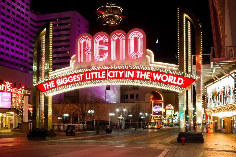 Reno Nevada fotos de archivo libres de regalías