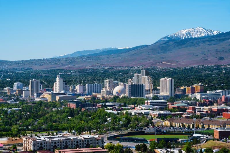 Reno Nevada imagen de archivo libre de regalías