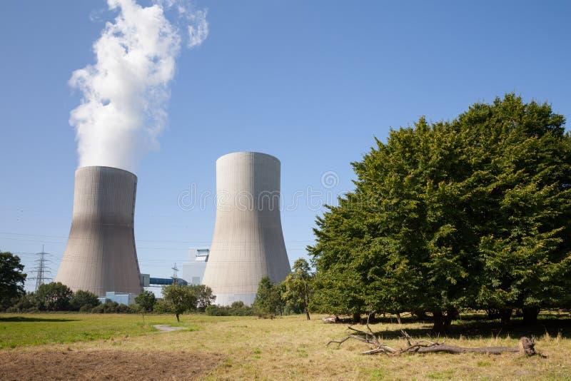 Reno-Westphalia norte, Hamm, sta a carvão duro do poder imagens de stock royalty free
