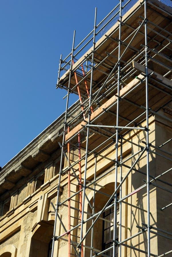 Renovação do edifício foto de stock royalty free