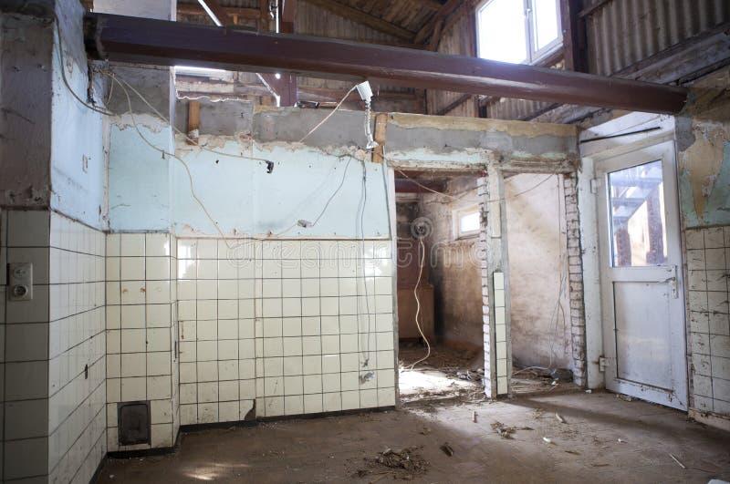 Renovação velha da casa foto de stock