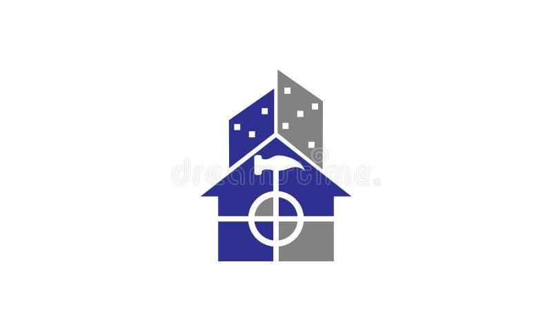 Renovaciones de Real Estate ilustración del vector